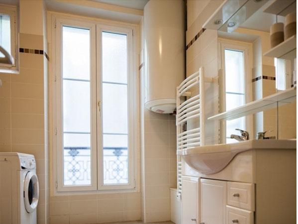 개선문 에투알민박 세탁 및 화장실